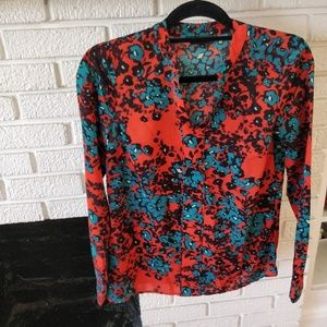 The limited vibrant blouse